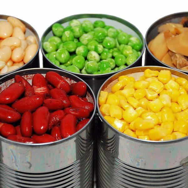 Caned Fruits & Vegetables
