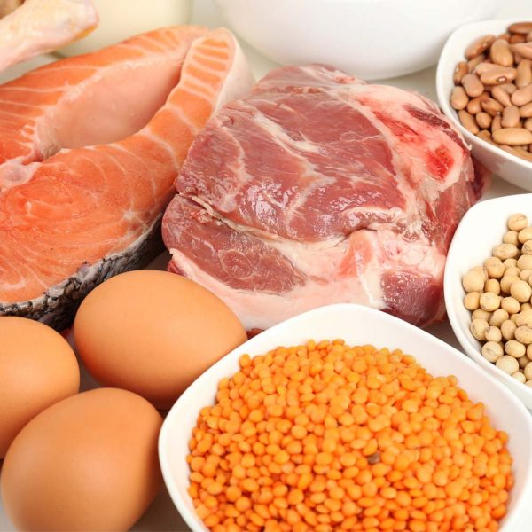 Meat, Poultry, Fish, Beans, Eggs, and Peanut Butter